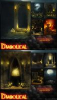 Diabolical Backgrounds by cosmosue