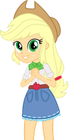 Applejack  Equestria Girls by mlps112