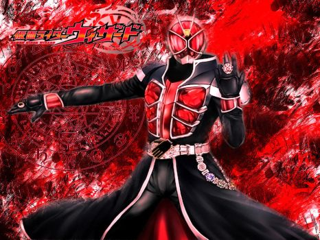 Kamen Rider Wizard Wallpaper by KaiserNazrin