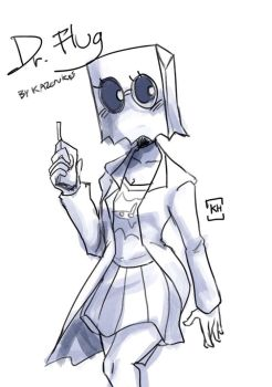 Doodle :: Dr. Flug female vers.  by Khwan123-and-ninjago