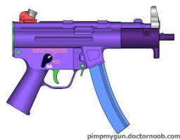 Mp5k custom color by AsherRazeOfficial