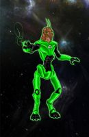 Green Lantern Prawn by dblake