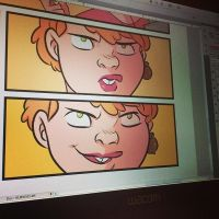 Unbeatable Squirrel Girl panels by whoisrico
