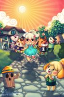 Animal Crossing Tribute by jennduong