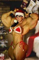 Muscle Christmas by johnnyjoestar