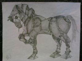 Robotic Horse by ZomBieLouver