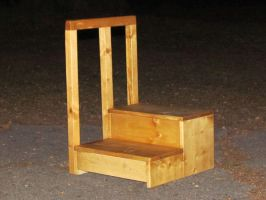 Step Stool by Lupas-Deva