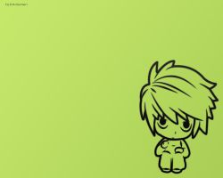 wallpapers death note chiby by djeduseclen