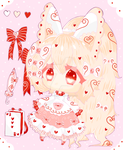 Adoptable Auction [CLOSED] - Lily Heart by Candy-Witch