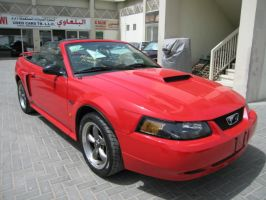 Mustang GT V8 2003 Red by sniperbytes