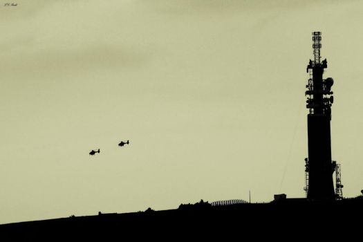 The Black Helicopters... by TakeMeToAnotherPlace