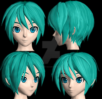New DT Miku,reedit wip 2 by Akisuky-san