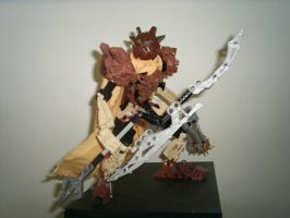 Toa Warlord- Raydax the Gold by Barrelex