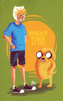Finn and Jake by Jimmy-ilustra