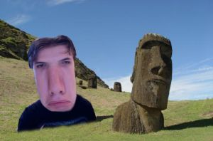 My Vacation on Easter Island by Zaurask