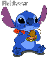 Can Stitch Has A Cheezburger by Fishlover