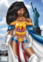 Ms. America by Cahnartist