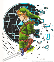 LoZ Link fan art by TheWiggleKing