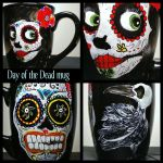Day of the Dead Mug by InkyDreamz