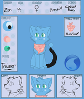 Pocket-Felines | Zuri Ref | Trainer by StarBurnAva