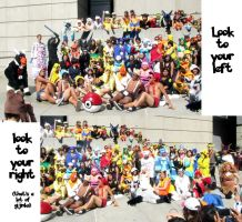 AX11-Pokemon Gijinka Group Pic by moonymonster