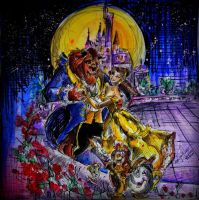 Beauty and the Beast by TamiTw