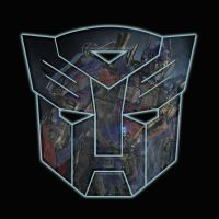 Optimus Prime movie insignia by BDixonarts