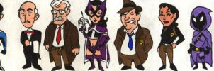 Batman Heroes of Gotham by Mbecks14