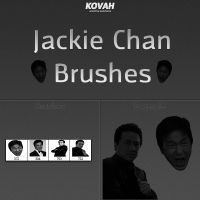 Jackie Chan Brushset 1 by theKovah