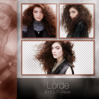 Lorde / Png Pack by Sfaturiptadmini-OFF