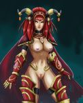 Alexstrasza nude colored by raimy329