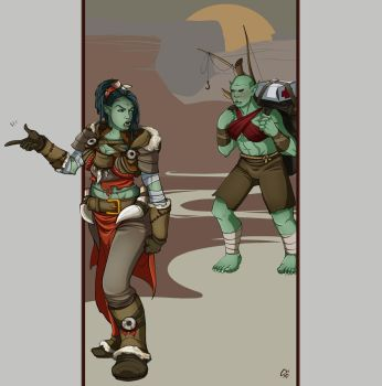 Commission: WOW Orcs by Commissions-RRart