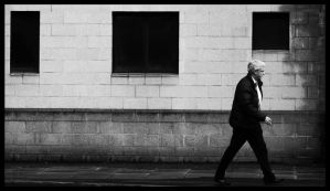 Street: The Modern Man's March by TakeMeToAnotherPlace