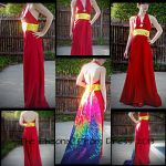 'The Pheonix' Prom Dress 2013 by ElliotCosplay