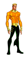 JLA Animated:S3-4 Aquaman by kyomusha