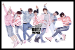 GOT7 PNG Pack 3 by euphoriclover
