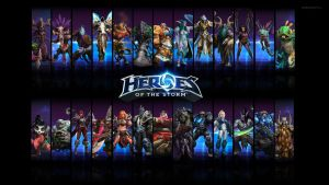Heroes of The Storm - Heroes Wallpaper 1920x1080 by DarxoTV