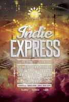 Indie Express Flyer by styleWish