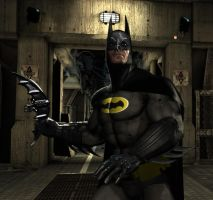 Arkham Asylum Adam West Style by KyleXY93
