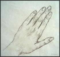 Drawing- Hand I. by Ennete