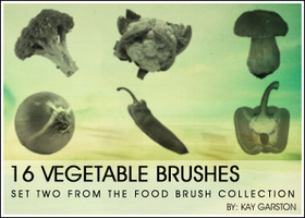 FOOD BRUSH COLLECTION - Veg by Special-K-001