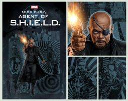 Nick Fury .... by fernandogoni