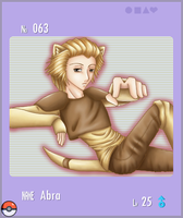 PKMN No. 063 - Abra by sassie-kay