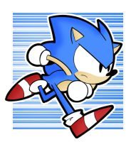 Toot Toot Sonic Warrior by FreakingArG