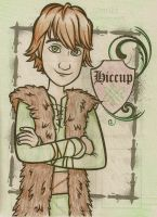 HTTYD: Coloring Book- Hiccup by sailor663