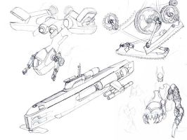 Mechanical Sketches by MikeDoscher
