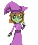 ::Premium:: Lilly the witch(serpentina98) by Nite3007