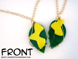 Sharable Paopu Fruit Necklaces by OurDestinyDesigns