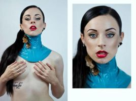 Latex Collar by RubyJ