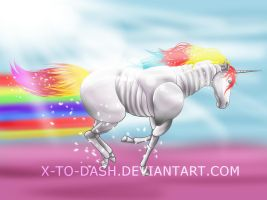 Robot Unicorn Attack by X-To-Dash